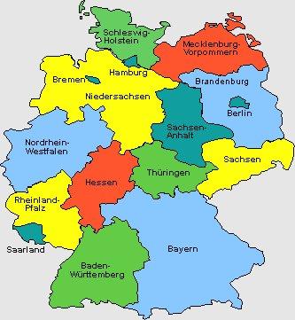 erdkunde deutschland karte Wissen 5 Üben